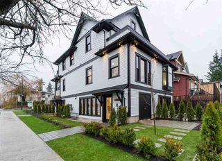 "Main Photo: 3918 CAROLINA Street in Vancouver: Fraser VE House 1/2 Duplex for sale in ""The Carolina"" (Vancouver East)  : MLS®# R2431668"