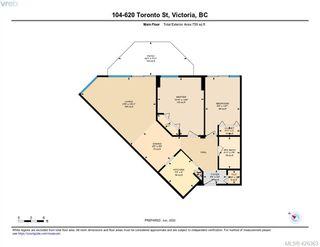 Photo 27: 104 620 Toronto Street in VICTORIA: Vi James Bay Condo Apartment for sale (Victoria)  : MLS®# 426363