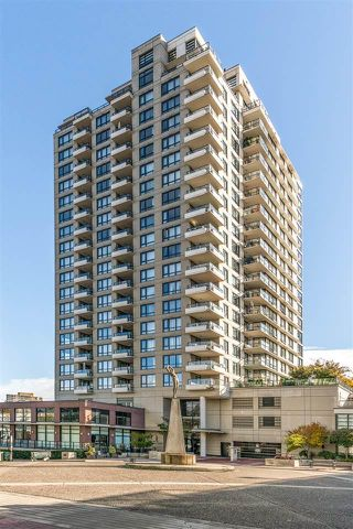 "Photo 1: 1306 1 RENAISSANCE Square in New Westminster: Quay Condo for sale in ""The Q"" : MLS®# R2506894"