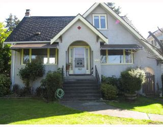 Photo 1: 7378 GRANVILLE Street in Vancouver: South Granville House for sale (Vancouver West)  : MLS®# V639114