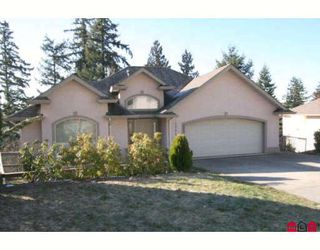"Photo 1: 2791 ST MORITZ Way in Abbotsford: Abbotsford East House for sale in ""GLENN MOUNTAIN"" : MLS®# F2802161"