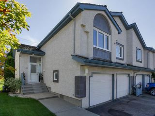 Photo 1: 43 1130 FALCONER Road in Edmonton: Zone 14 Townhouse for sale : MLS®# E4212062