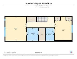 Photo 33: 28 205 MCKENNEY Avenue: St. Albert Townhouse for sale : MLS®# E4214660