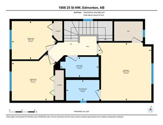 Photo 25: 1908 25 Street in Edmonton: Zone 30 House for sale : MLS®# E4219340