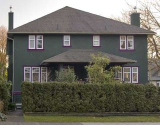 Photo 1: 1994 W 12TH Avenue in Vancouver: Kitsilano House 1/2 Duplex for sale (Vancouver West)  : MLS®# V693088