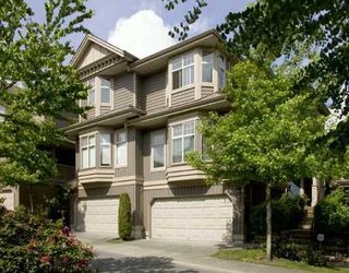 """Photo 1: 7 8868 16TH Avenue in Burnaby: The Crest Townhouse for sale in """"CRESENT HEIGHTS"""" (Burnaby East)  : MLS®# V696651"""
