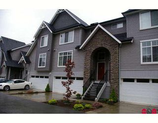 """Photo 1: 9 5965 JINKERSON Road in Sardis: Promontory Townhouse for sale in """"EAGLE VIEW RIDGE"""" : MLS®# H2802676"""