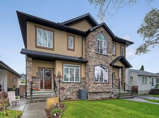Photo 1: 417 35 Avenue NW in Calgary: Highland Park Semi Detached for sale : MLS®# C4297308