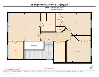 Photo 11: 78 Brightoncrest Grove SE in Calgary: New Brighton Semi Detached for sale : MLS®# A1032989