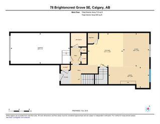 Photo 10: 78 Brightoncrest Grove SE in Calgary: New Brighton Semi Detached for sale : MLS®# A1032989