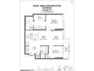 "Photo 16: 1008 8288 LANSDOWNE Road in Richmond: Brighouse Condo for sale in ""VERSANTE"" : MLS®# R2528707"