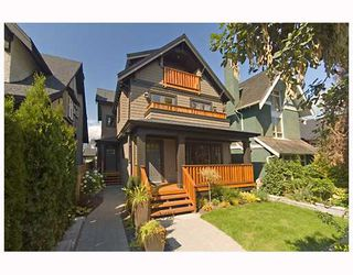 Photo 1: 3171 W 2ND Avenue in Vancouver: Kitsilano House 1/2 Duplex for sale (Vancouver West)  : MLS®# V672584