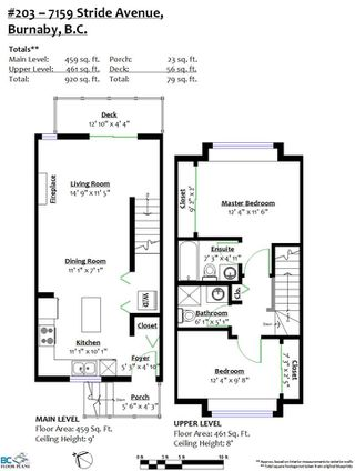 """Photo 20: 203 7159 STRIDE Avenue in Burnaby: Edmonds BE Townhouse for sale in """"SAGE"""" (Burnaby East)  : MLS®# R2447807"""