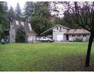 Photo 1: 11739 272ND Street in Maple_Ridge: Whonnock House for sale (Maple Ridge)  : MLS®# V648786