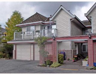 "Photo 1: 2 11502 BURNETT Street in Maple_Ridge: East Central Townhouse for sale in ""TELOSKY VILLAGE"" (Maple Ridge)  : MLS®# V664568"