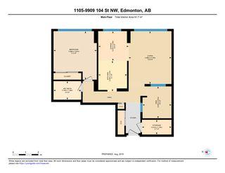 Photo 26: 1105 9909 104 Street NW in Edmonton: Zone 12 Condo for sale : MLS®# E4169504