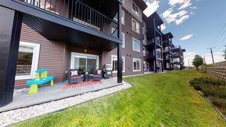 Photo 25: 111 142 EBBERS Boulevard in Edmonton: Zone 02 Condo for sale : MLS®# E4201310