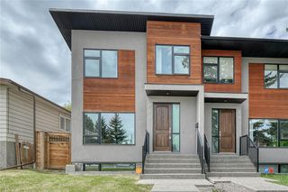 Main Photo: 911 42 Street SW in Calgary: Rosscarrock Semi Detached for sale : MLS®# C4305671