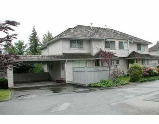"Main Photo: 41 1216 JOHNSON Street in Coquitlam: Scott Creek Townhouse for sale in ""WEDGEWOOD HILLS"" : MLS®# V661832"
