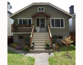 Photo 1: 2778 E 6TH Avenue in Vancouver: Renfrew VE House for sale (Vancouver East)  : MLS®# V705948
