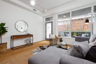 """Photo 2: 138 E 1ST Avenue in Vancouver: Mount Pleasant VE Townhouse for sale in """"Meccanica"""" (Vancouver East)  : MLS®# R2428727"""