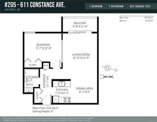 Photo 15: 205 611 Constance Ave in : Es Saxe Point Condo for sale (Esquimalt)  : MLS®# 859111