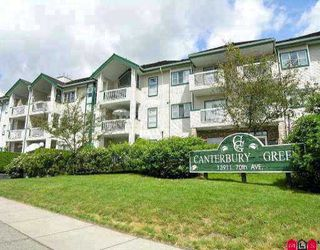 Photo 1: Canterbury Green - # 226 13911 70TH AV in Surrey: East Newton Condo for sale : MLS®# F2714013