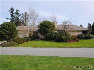 Photo 1: 4955 Del Monte Avenue in : SE Cordova Bay Single Family Detached for sale (Saanich East)  : MLS®# 290783