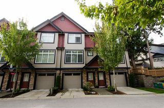 "Photo 1: 92 6299 144 Street in Surrey: Sullivan Station Townhouse for sale in ""ALTURA"" : MLS®# R2411747"