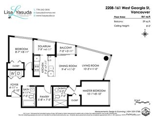 "Photo 35: 2208 161 W GEORGIA Street in Vancouver: Downtown VW Condo for sale in ""COSMO"" (Vancouver West)  : MLS®# R2461704"