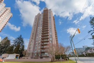 "Main Photo: 1 551 AUSTIN Avenue in Coquitlam: Coquitlam West Condo for sale in ""Brookmere Towers"" : MLS®# R2455043"