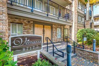 "Main Photo: 411 8717 160 Street in Surrey: Fleetwood Tynehead Condo for sale in ""VERNAZZA"" : MLS®# R2514303"
