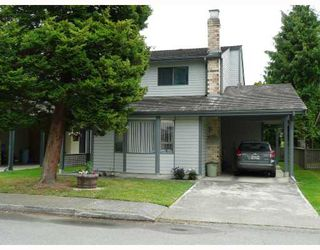 "Photo 1: 9 6245 SHERIDAN Road in Richmond: Woodwards Townhouse for sale in ""MAPLE TREE LANE"" : MLS®# V658473"