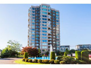 "Photo 1: 404 3170 GLADWIN Road in Abbotsford: Central Abbotsford Condo for sale in ""REGENCY TOWER"" : MLS®# R2427366"