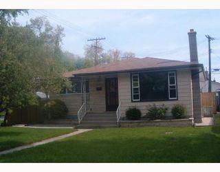 Photo 1: 501 OAKLAND Avenue in WINNIPEG: North Kildonan Single Family Detached for sale (North East Winnipeg)  : MLS®# 2708833