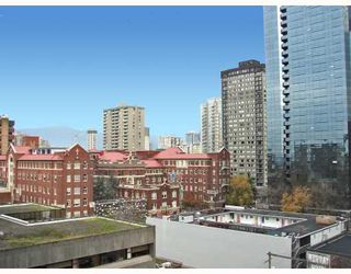 "Photo 9: 813 1177 HORNBY Street in Vancouver: Downtown VW Condo for sale in ""LONDON PLACE"" (Vancouver West)  : MLS®# V677284"