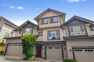 "Photo 1: #5 19938 70 Avenue in Langley: Willoughby Heights Townhouse for sale in ""Summerhill"" : MLS®# R2467793"