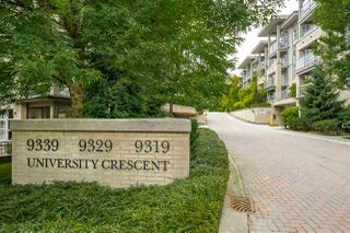 Photo 2: 305 9339 UNIVERSITY CRESCENT in Burnaby: Simon Fraser Univer. Condo for sale (Burnaby North)  : MLS®# R2450869