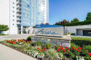 "Photo 1: 701 4189 HALIFAX Street in Burnaby: Brentwood Park Condo for sale in ""AVIARA"" (Burnaby North)  : MLS®# R2477712"