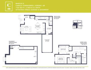 Photo 5: 537 Canals Crossing SW: Airdrie Row/Townhouse for sale : MLS®# A1028501