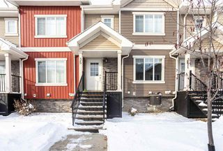 Photo 1: 35 675 ALBANY Way in Edmonton: Zone 27 Townhouse for sale : MLS®# E4221023