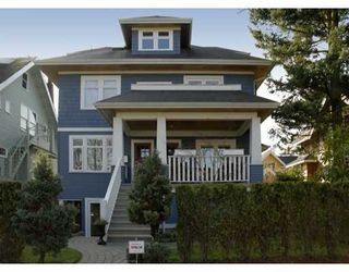 Photo 1: 1914 W 11TH Ave in Vancouver: Kitsilano Townhouse for sale (Vancouver West)  : MLS®# V632354