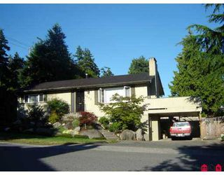 "Photo 1: 1582 132ND Street in White_Rock: Crescent Bch Ocean Pk. House for sale in ""Ocean Park"" (South Surrey White Rock)  : MLS®# F2720786"