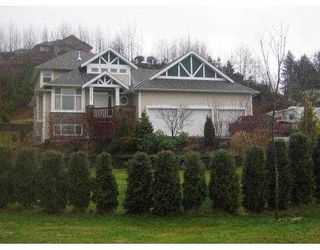 Photo 1: 12750 262ND Street in Maple_Ridge: Websters Corners House for sale (Maple Ridge)  : MLS®# V669099