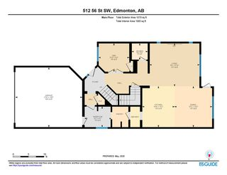 Photo 43: 512 56 Street in Edmonton: Zone 53 House for sale : MLS®# E4197080