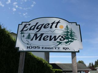 Photo 2: 16 1095 EDGETT ROAD in COURTENAY: CV Courtenay City Row/Townhouse for sale (Comox Valley)  : MLS®# 843297