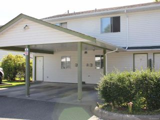 Photo 1: 16 1095 EDGETT ROAD in COURTENAY: CV Courtenay City Row/Townhouse for sale (Comox Valley)  : MLS®# 843297