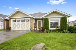 """Photo 1: 61 7600 CHILLIWACK RIVER Road in Chilliwack: Sardis East Vedder Rd House for sale in """"Clover Creek"""" (Sardis)  : MLS®# R2515130"""