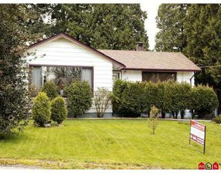 Photo 1: 2369 CLARKE Drive in Abbotsford: Central Abbotsford House for sale : MLS®# F2707990