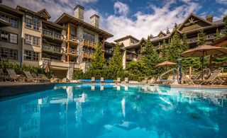 """Main Photo: 415 4899 PAINTED CLIFF Road in Whistler: Benchlands Condo for sale in """"BLACKCOMB SPRINGS SUITES"""" : MLS®# R2424044"""